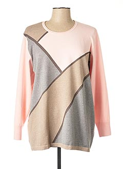 Pull col rond rose RABE pour femme