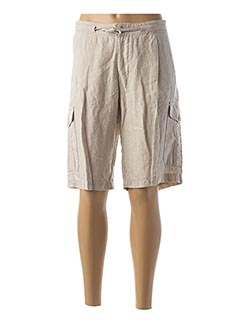 Bermuda beige LUCKY'S 47 BY LUCCHINI pour femme