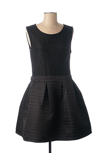 Robe courte noir CHOKLATE pour femme