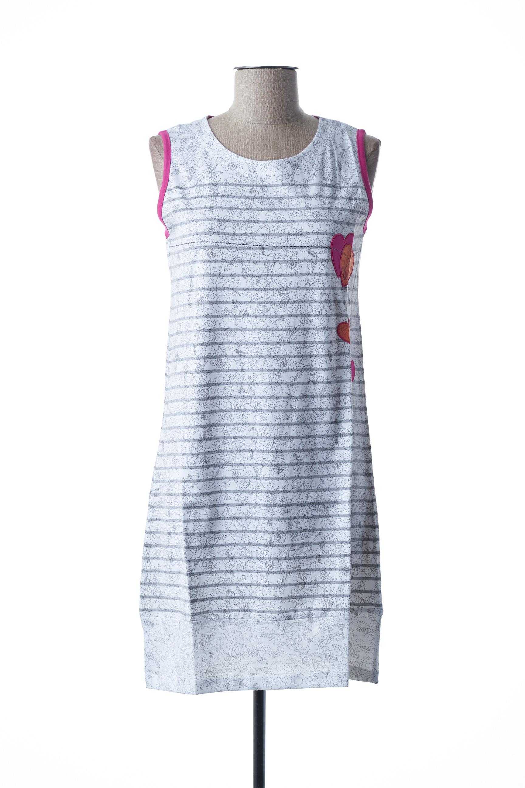 Chemise de nuit femme Rose Pomme gris taille : 38 26 FR (FR)