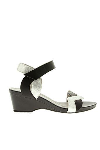 Sandales/Nu pieds gris FUGITIVE BY FRANCESCO ROSSI pour femme