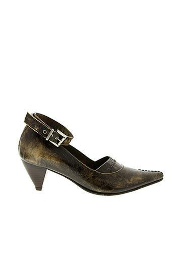 Escarpins marron FIDJI pour femme