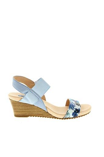 Sandales/Nu pieds bleu FUGITIVE pour femme