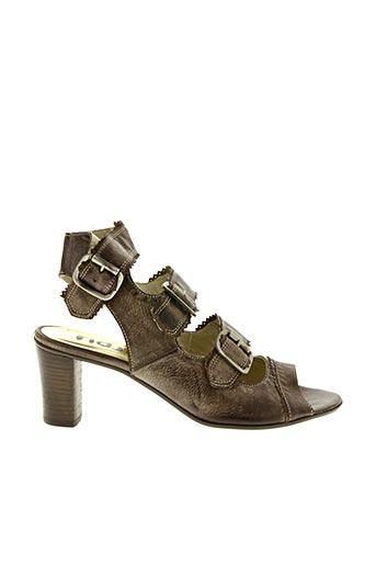 Sandales/Nu pieds marron FIDJI pour femme