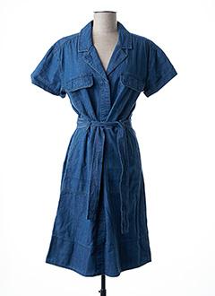 Robe mi-longue bleu CLOSED pour femme