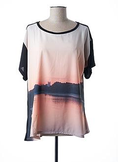 T-shirt manches courtes noir PAUL SMITH pour femme