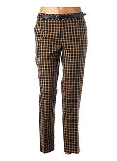 Pantalon 7/8 jaune SCOTCH & SODA pour femme