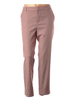 Pantalon 7/8 rouge CLOSED pour femme
