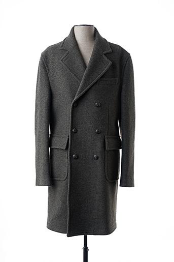 Manteau long gris CIRCOLO 1901 pour homme