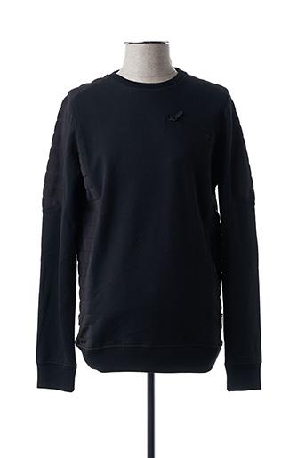 Sweat-shirt noir KARL LAGERFELD pour homme