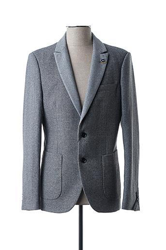 Veste chic / Blazer gris SCOTCH & SODA pour homme