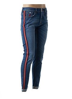 Jeans coupe slim bleu BARB'ONE pour homme