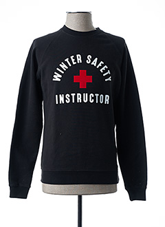 Sweat-shirt noir FRENCH DISORDER pour homme