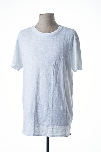 T-shirt manches courtes blanc AMERICAN VINTAGE pour homme