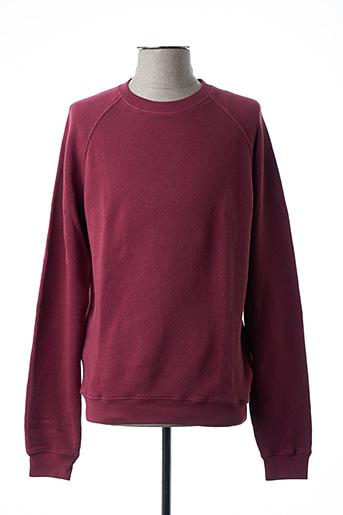 Sweat-shirt rouge AMERICAN VINTAGE pour homme