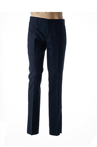 Pantalon chic bleu JEAN-LOUIS SCHERRER pour homme