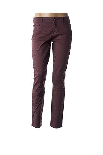 Pantalon casual rouge ESPRIT pour femme