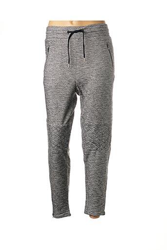 Pantalon 7/8 gris REIKO pour femme