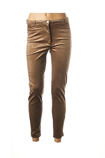 Pantalon 7/8 marron ESPRIT pour femme