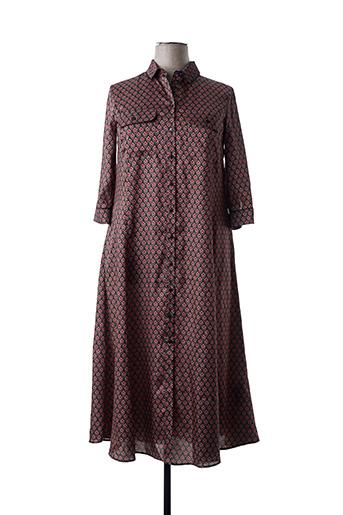 Robe longue rouge MARINA RINALDI pour femme