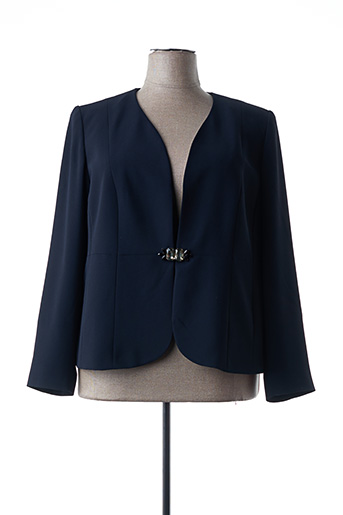 Veste chic / Blazer bleu MARINA RINALDI pour femme