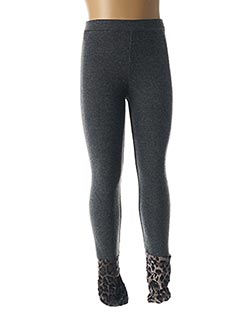 Legging gris MINI MOLLY pour fille
