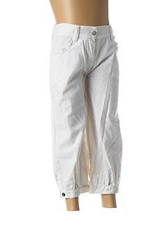 Pantalon casual blanc 3 POMMES pour fille