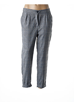 Pantalon 7/8 gris B.YOUNG pour femme