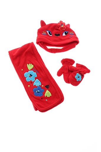 Bonnet rouge TUC TUC pour fille