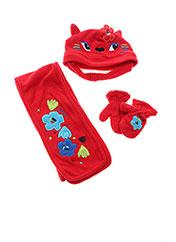 Bonnet rouge TUC TUC pour fille seconde vue