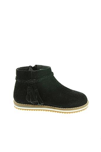 Bottines/Boots noir HUSH PUPPIES pour fille