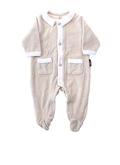 Pyjama beige BEBE CHOCOLAT pour garçon