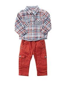 Top/pantalon orange BOBOLI pour garçon
