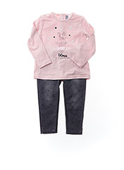 Top/pantalon rose LOSAN pour fille seconde vue