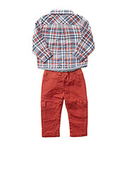 Top/pantalon orange BOBOLI pour garçon seconde vue