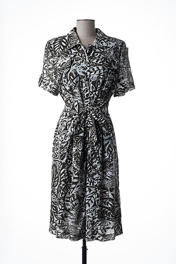 Robe mi-longue vert COSTURA 40 pour femme
