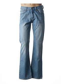 Jeans coupe droite bleu ESPRIT pour homme
