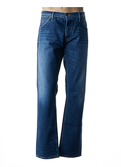Jeans coupe droite bleu PEPE JEANS pour homme