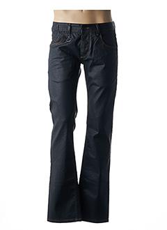 Jeans coupe droite noir FREEMAN T.PORTER pour homme