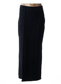 Jupe longue noir CANNISSE pour femme