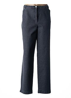 Pantalon casual gris GINA B HEIDEMANN pour femme