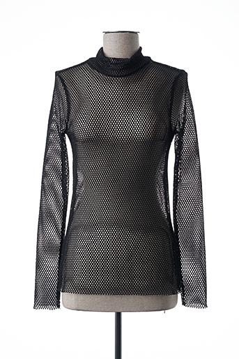 Sous-pull noir PIECES pour femme