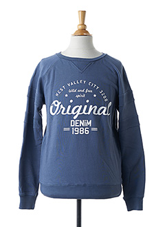 Sweat-shirt bleu NAME IT pour fille