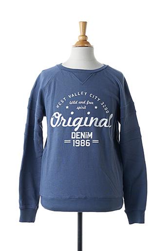 Sweat-shirt bleu NAME IT pour fille