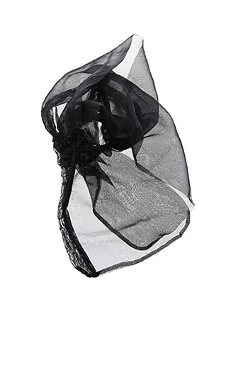 Foulard noir MOLLY BRACKEN pour femme