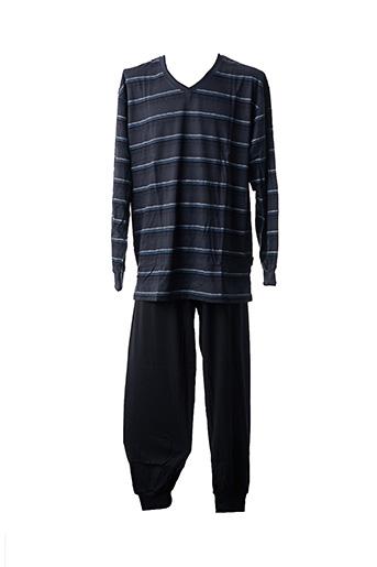 Pyjama noir CECEBA pour homme
