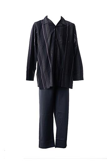 Pyjama noir HAJO pour homme