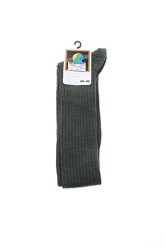 Chaussettes gris ICARE pour homme