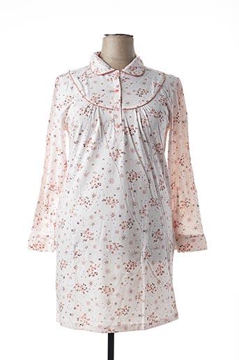 Chemise de nuit rose ÉLIANE pour femme