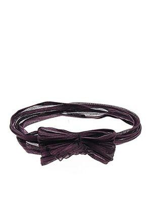 Accessoire pour cheveux violet WILLY'S pour femme